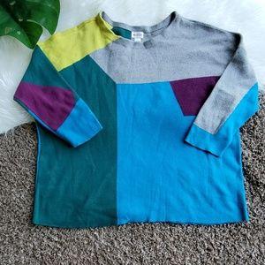 Stylus Women's Color Block Sweater XL
